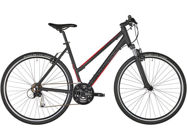 Serious Cedar Hybridcykel rød/sort (2019) | City-cykler